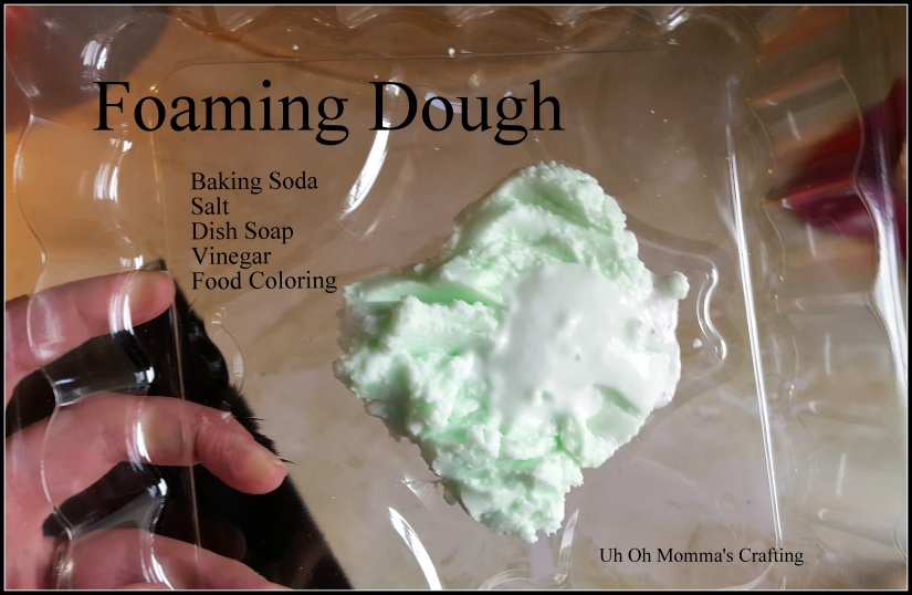 Foaming Dough & Bubbles