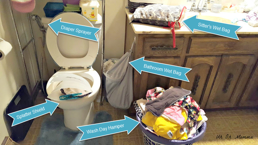 Cloth Diaper Cleaning Setup 2